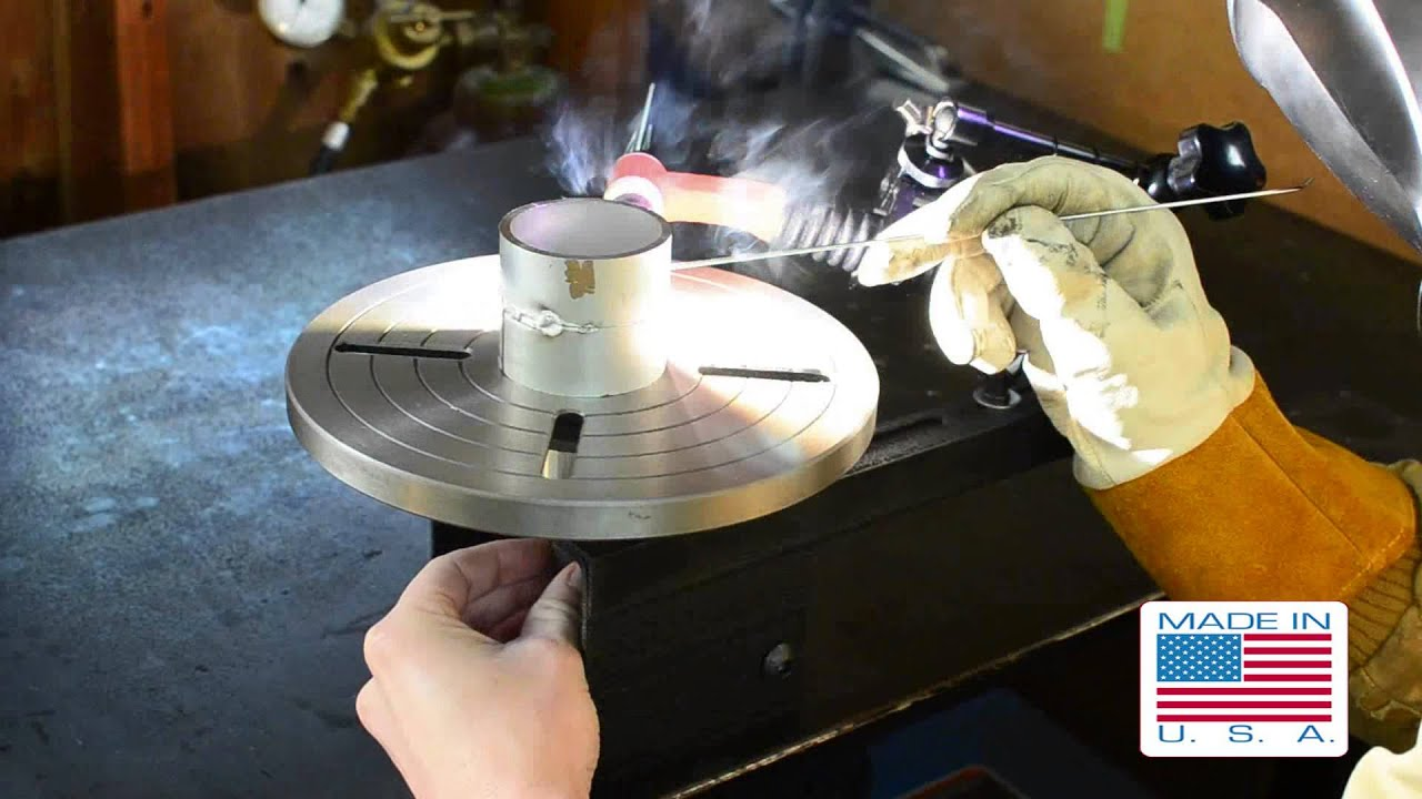 Benchtop Manual Welding Positioner Mp400 Youtube
