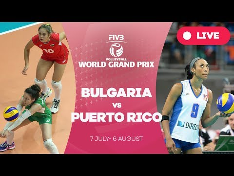 Bulgaria v Puerto Rico - Group 2: 2017 FIVB Volleyball World Grand Prix