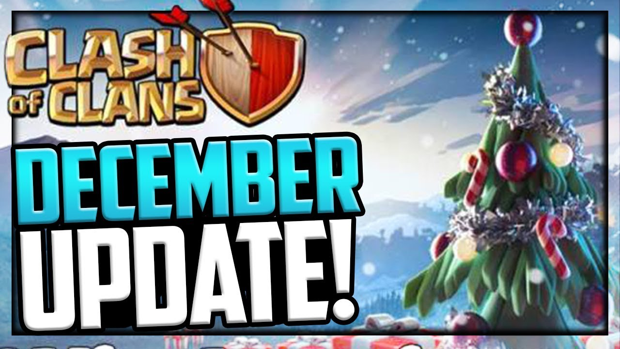 december update clash of clans update news youtube. Black Bedroom Furniture Sets. Home Design Ideas