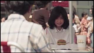 일본 맥도날드 50주년 광고