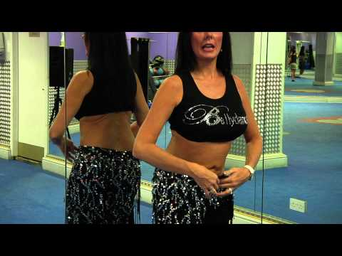How To Belly Dance The Hip To Shoulder Shimmy With Nuala Youtube