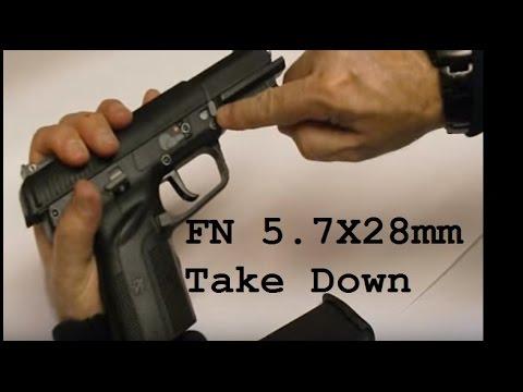 FN Five-Seven 5.7 x 28mm field strip - take down - tear down
