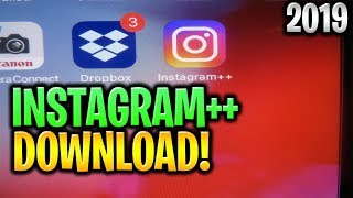 Gambar cover How to Install Instagram ++ ✅ Download Instagram ++ 2019 ANDROID APK/iOS