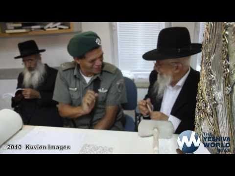 American Philanthropist Ira Rennert Dedicates 12 Sifrei Torah in Memory of Israeli Victims