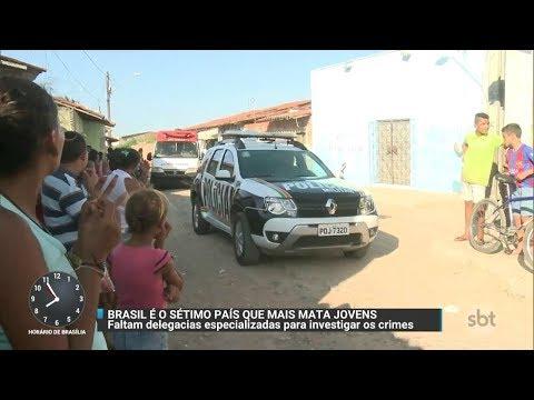 Brasil é o sétimo país com mais jovens assassinados no mundo | Primeiro Impacto (13/11/17)
