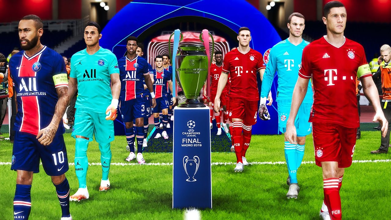Uefa Champions League Final 2020 Psg Vs Bayern Munich Youtube