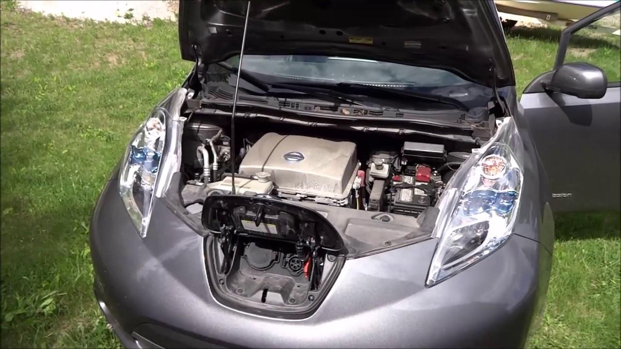Wonderful Nissan LEAF Range Extender Pack Build Pt.3.2 (2nd Long Distance Test)    YouTube