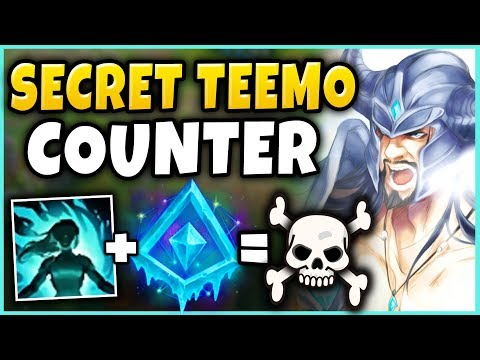 THIS IS HOW #1 TRYNDAMERE WORLD DEALS WITH TEEMO! (BIGGEST COUNTER IN LOL) - League of Legends