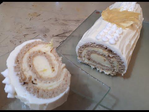 ❤️-bûche-roulée-au-citron-et-au-mascarpone-(facile!)