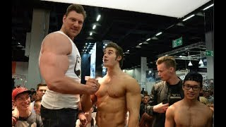 Olivier Richters - The BIGGEST Real Life Bodybuilder Giant Who Made Everyone Look Small