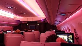 Qatar Airways A350 Business Class - Doha to Adelaide