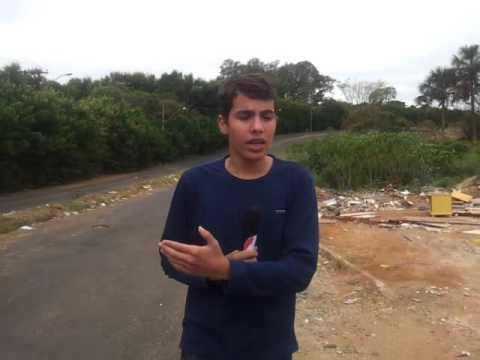 Reporter Mirim de Uberlândia balança