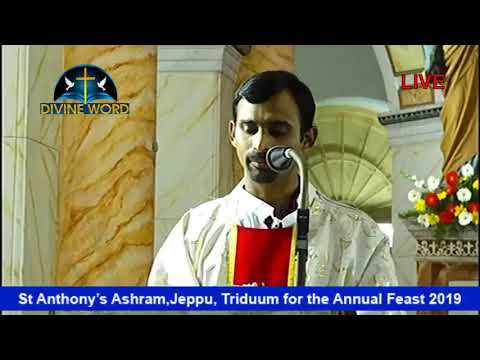 St  Anthony Ashram, Jeppu, Triduum for the Annual Feast 2019 (Day3