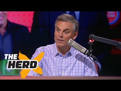 Colin reacts to 2017 NBA Draft Lottery, talks Lonzo Ball's NBA future  | THE HERD