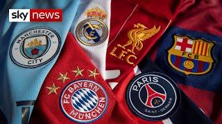European super league plans set to be announced