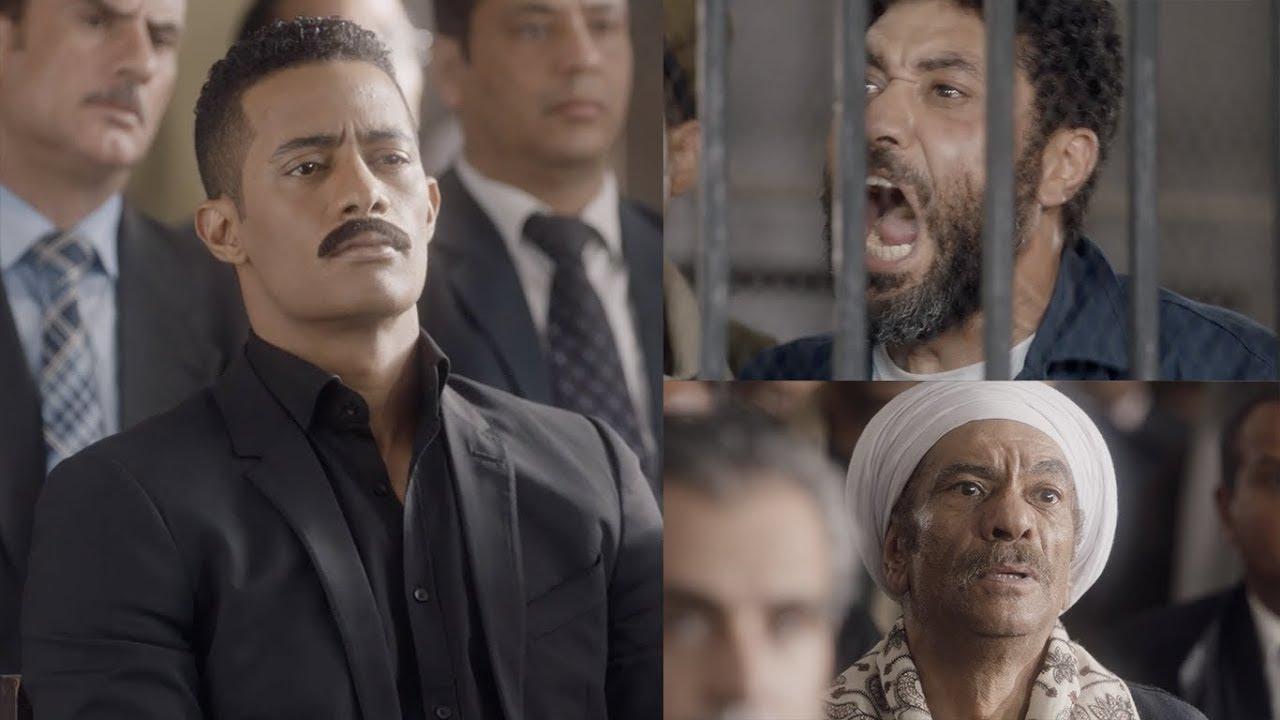 الحكم علي مسعد هتلر بالاعدام - مسلسل نسر الصعيد - محمد رمضان