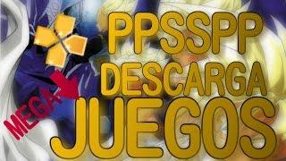 "Como DESCARGAR JUEGOS (.ISO) para ""PSP"" o PPSSPP de Android GRATIS y FACIL 2016."