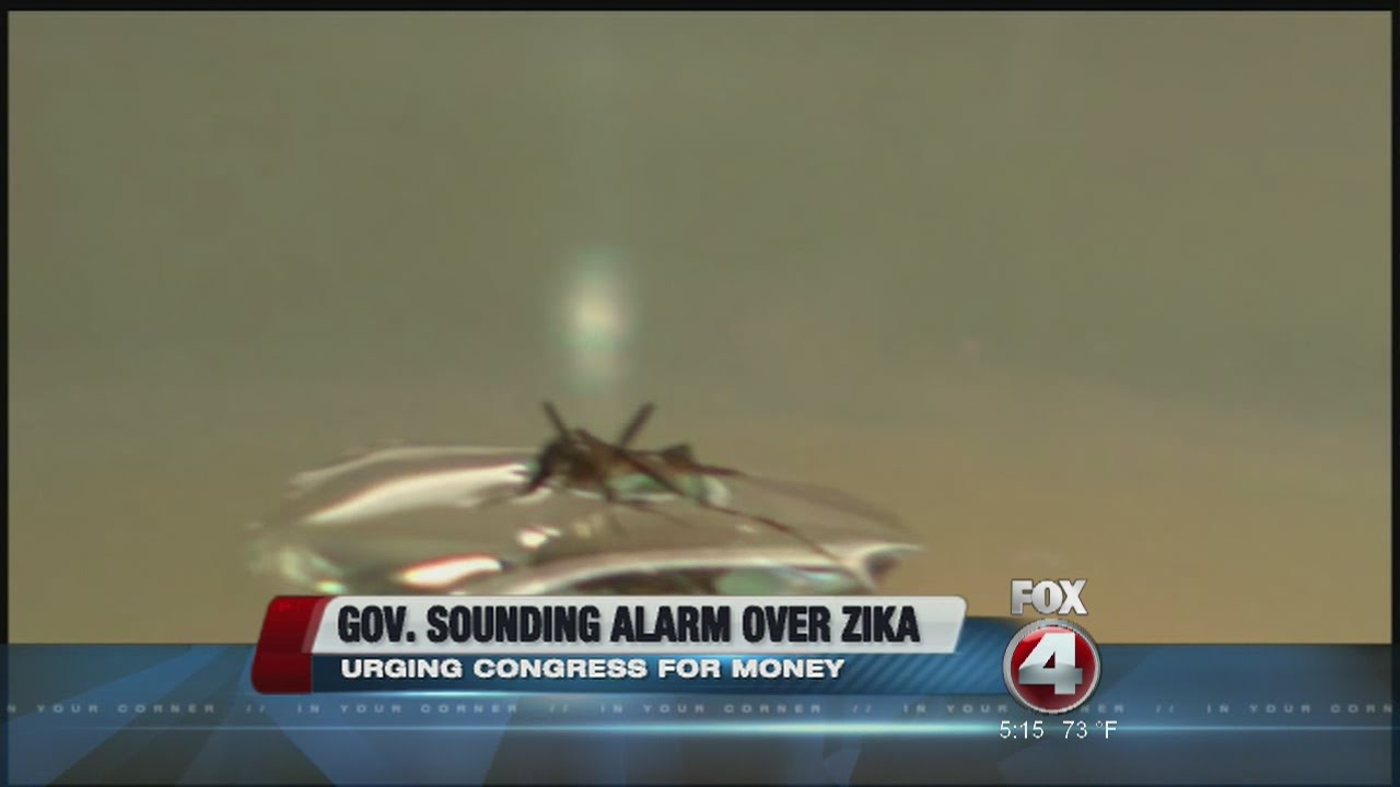 Florida Governor urging Zika virus funding