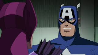 Hawkeye and Captain America vs. Vision