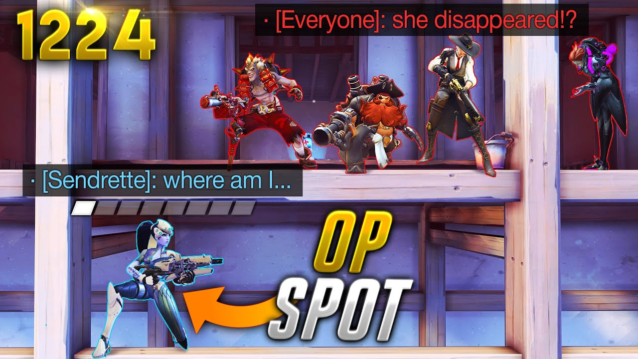 NEW *SECRET* Nepal SPOT!!   Overwatch Daily Moments Ep.1224 (Funny and Random Moments)