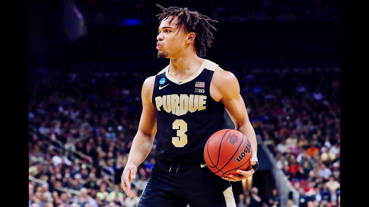 Carsen Edwards Hits 10 3 Pointers Vs Virginia Finishes With 42 Pts