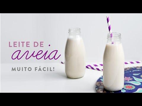 Leite de Aveia - O mais fácil e barato leite vegetal! Ep. 1