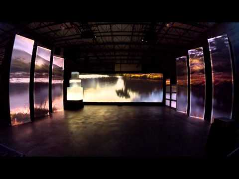 """Projection Mapping Demo Video by Stage Right, Inc. """"Imagine the possibilities"""""""