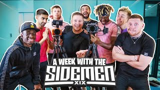 A Week In The Life Of Filming For The Sidemen