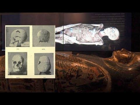 Científicos:  Un faraón egipcio era un Gigante, un posible Nefilim de la antigüedad?
