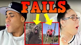 Fails You Missed: Did That Girl Fart? (March 2018) | FailArmy REACTION | MY DAD REACTS
