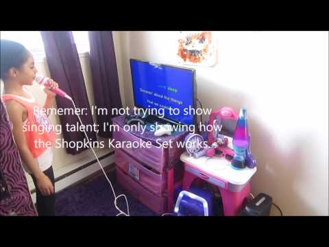 Shopkins Karaoke Set - Gift ideas for young girls
