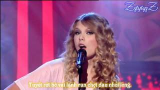 Teardrops On My Guitar (Live) - Taylor Swift - Vietnamese Lyrics - ZztytyzZ