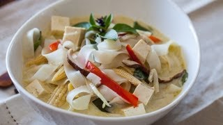 Vegetable Thai Curry Noodle Soup Recipe