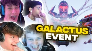 NRG Fortnite squad reacts to live Galactus Event