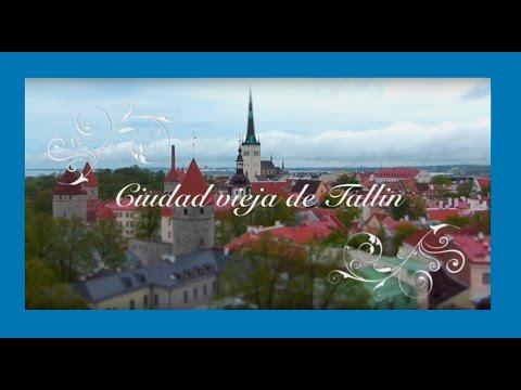 La ciudad vieja de Tallin, Estonia
