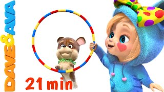 Funny Moments Collection | Nursery Rhymes and Baby Songs from Dave and Ava