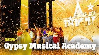 Gypsy Musical Academy, il Golden Buzzer di Claudio