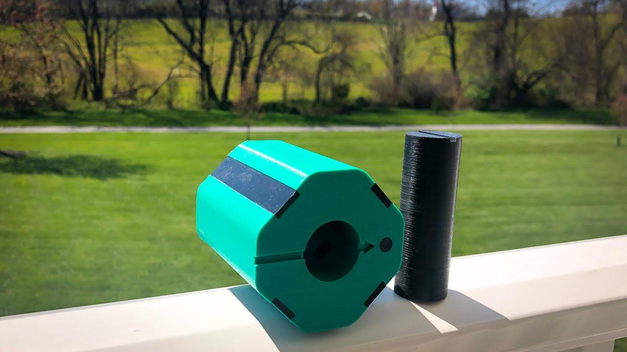 Custom Dowel Locking Puzzle - 3D Print