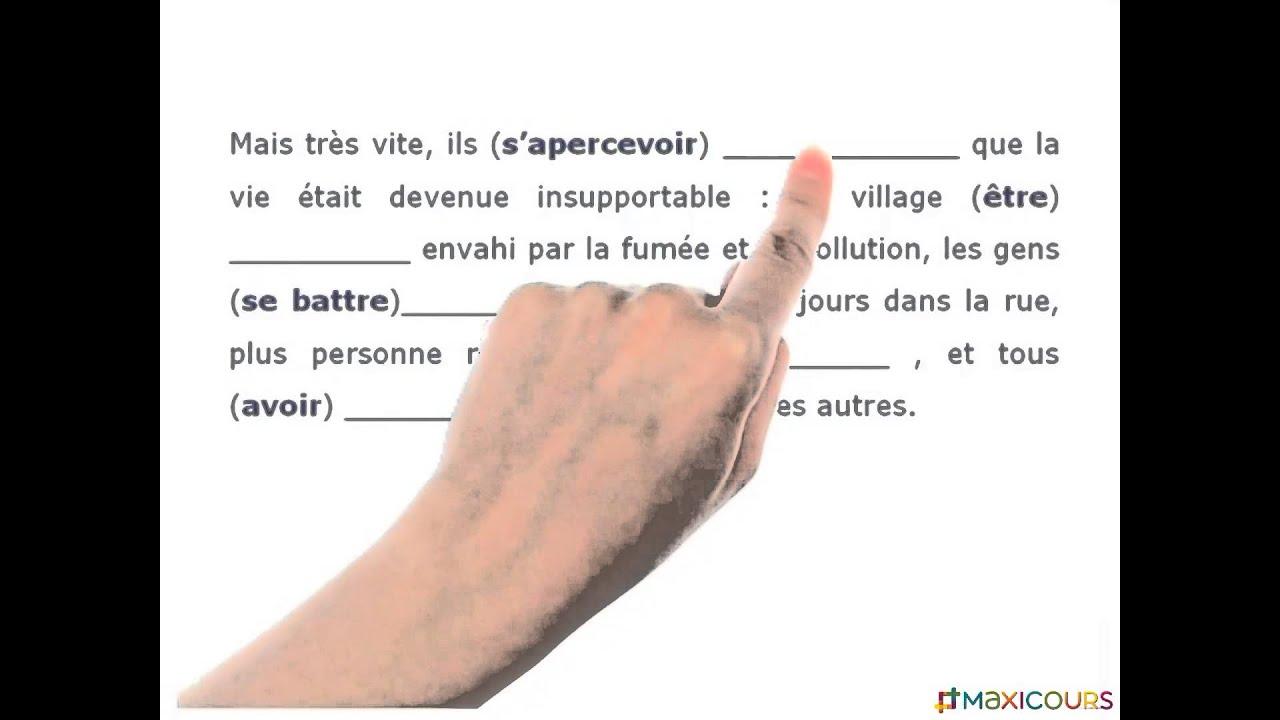 La Valeur De L Imparfait Et Du Passe Simple Youtube