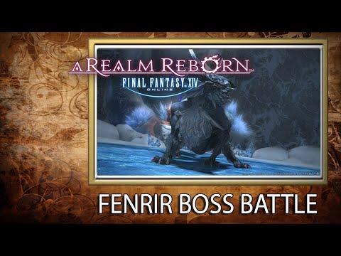 Fenrir Snowcloak Dungeon Boss Guide FFXIV - PakVim net HD