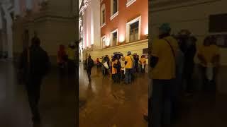 Акция дольщиков в Москве