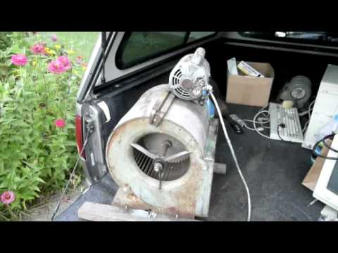 Fixing An Old Furnace Fan Youtube