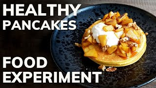 Which Healthy Flour Is The Best For Fitness Pancakes?  (Food Experiment)