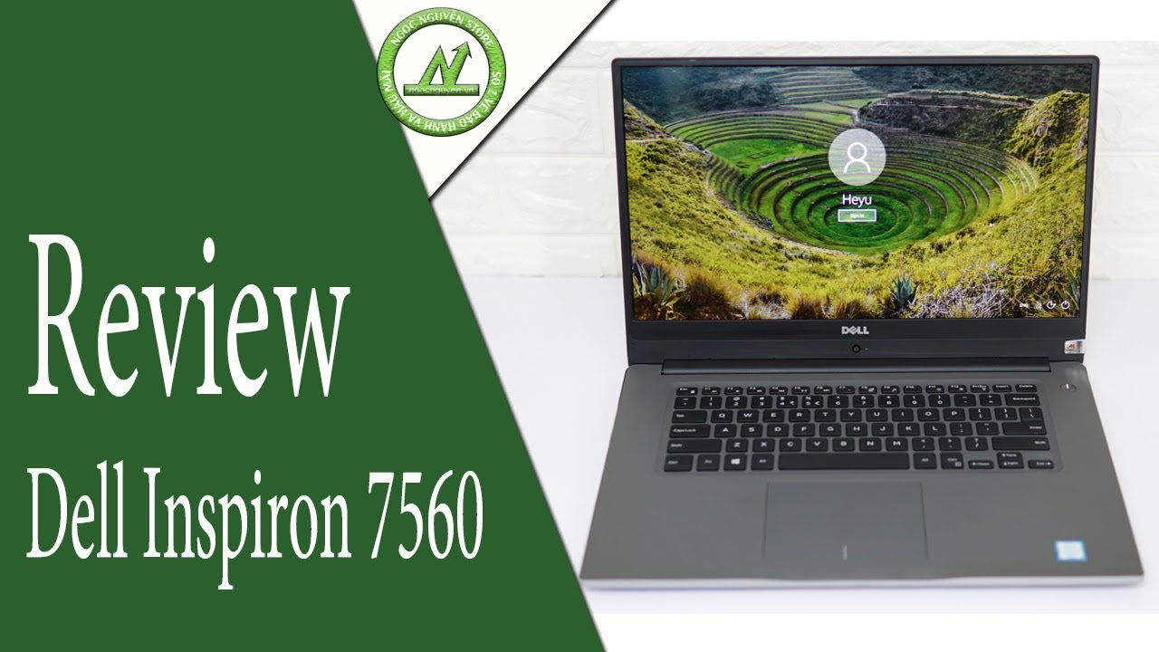 Review Laptop Mỏng Nhẹ Đẹp | DELL INSPIRON 7560
