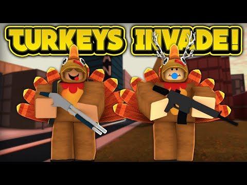 TURKEYS ARE INVADING JAILBREAK! (ROBLOX Jailbreak)
