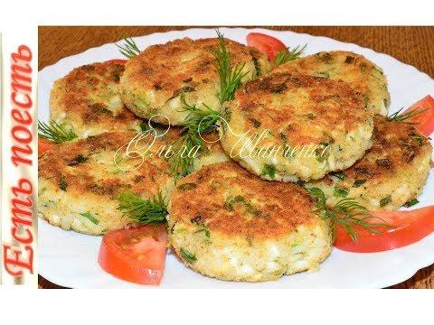 Котлетки яичные с рисом и зеленью