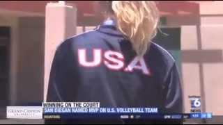 Karsta Lowe featured on San Diego 6 News