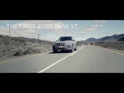 Testing of the first ever BMW X7