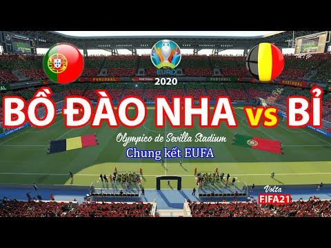 Bồ  Đào Nha vs  Bỉ Chung kết EUFA EURO 2020 | Top Game | Bỉ v Bồ Đào Nha | FIFA21