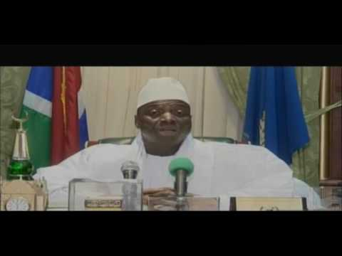 YAHYA JAMMEH REJECT THE ELECTION RESULT FULL SPEECH